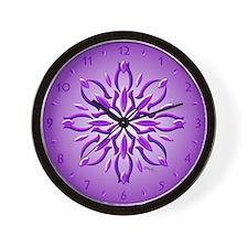 Amethyst Dream Clocks by Xen™ Wall Clock
