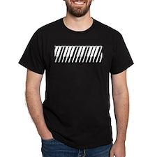 White Piano Keys T-Shirt