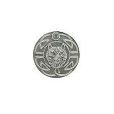 Celtic Wolf Mini Button (100 pack)