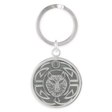 Celtic Wolf Keychains