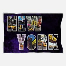 Streets of New York Pillow Case
