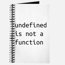 Not a function Journal