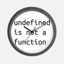 Not a function Wall Clock
