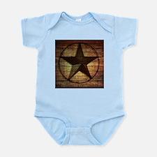 barn wood texas star Body Suit