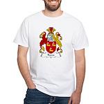 Rowe Family Crest White T-Shirt