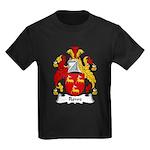 Rowe Family Crest Kids Dark T-Shirt