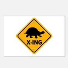 Turtle X-ing Postcards (Package of 8)