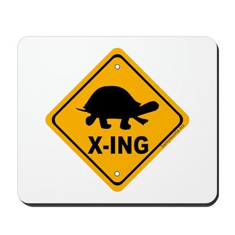 Turtle X-ing Mousepad