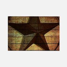 barn wood texas star Magnets