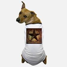 barn wood texas star Dog T-Shirt