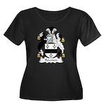 Rowdon Family Crest Women's Plus Size Scoop Neck D