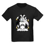 Round Family Crest Kids Dark T-Shirt