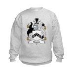 Round Family Crest Kids Sweatshirt