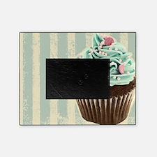 retro pattern cute cupcake Picture Frame