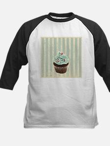 retro pattern cute cupcake Baseball Jersey