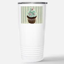 retro pattern cute cupc Stainless Steel Travel Mug