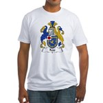 Rose Family Crest Fitted T-Shirt