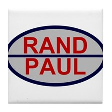Rand Paul Line Tile Coaster
