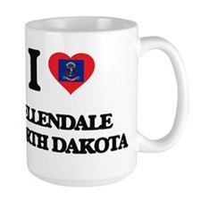 I love Ellendale North Dakota Mugs