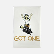 Got One Just Married Rectangle Magnet