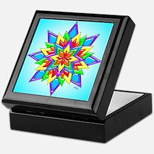 Rainbow Design II by Xennifer Keepsake Box