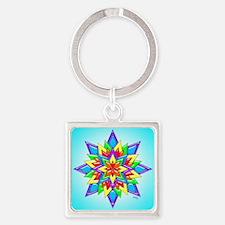Rainbow Design II by Xennifer Keychains
