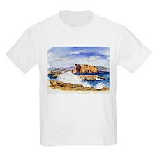 Naples Castel Dell'Ovo Kids T-Shirt
