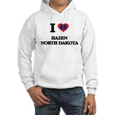 I love Hazen North Dakota Hoodie