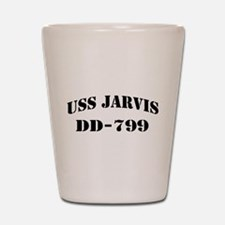 USS JARVIS Shot Glass