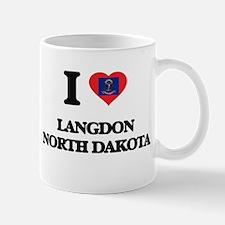 I love Langdon North Dakota Mugs