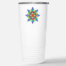 Rainbow Design II by Xen Travel Mug
