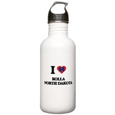 I love Rolla North Dak Water Bottle