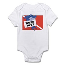 Bite Me Shark Infant Bodysuit