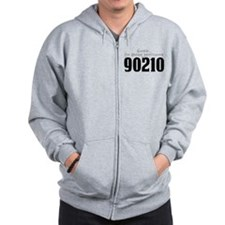 Shhh... I'm Binge Watching 90210 Zip Hoodie