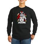 Rone Family Crest Long Sleeve Dark T-Shirt