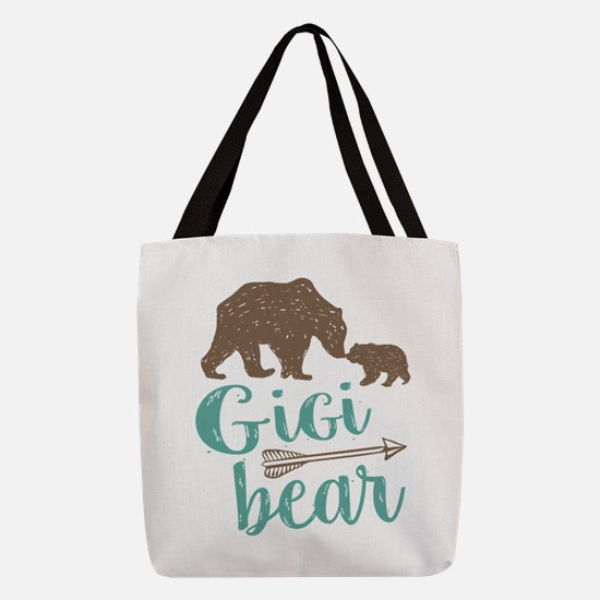 Gigi Bear Polyester Tote Bag