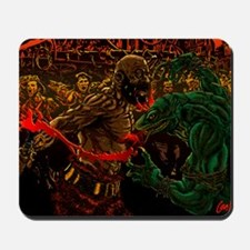 Duel In The Night Mousepad