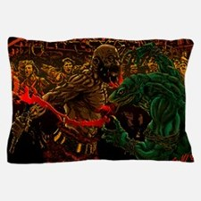 Duel In The Night Pillow Case