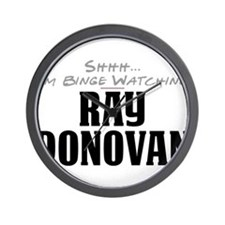 Shhh... I'm Binge Watching Ray Donovan Wall Clock