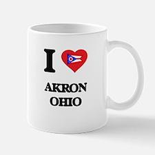 I love Akron Ohio Mugs