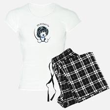Cockapoo Blk Parti IAAM Pajamas