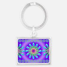 Rainbow Drops Design by Xennifer Keychains