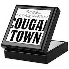 Shhh... I'm Binge Watching Cougar Town Keepsake Bo