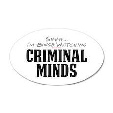 Shhh... I'm Binge Watching Criminal Minds 38.5 x 2