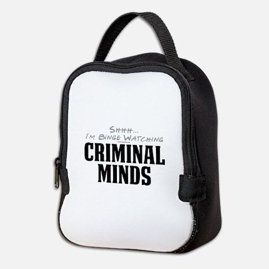 Shhh... I'm Binge Watching Criminal Minds Neoprene