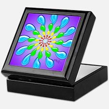 Rainbow Drops Design by Xennifer Keepsake Box