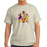 Rodney Family Crest Light T-Shirt