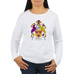 Rodney Family Crest  Women's Long Sleeve T-Shirt