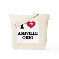 I love Ashville Ohio Tote Bag