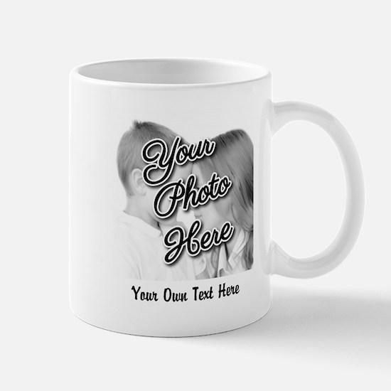 CUSTOM Photo and Caption Mugs